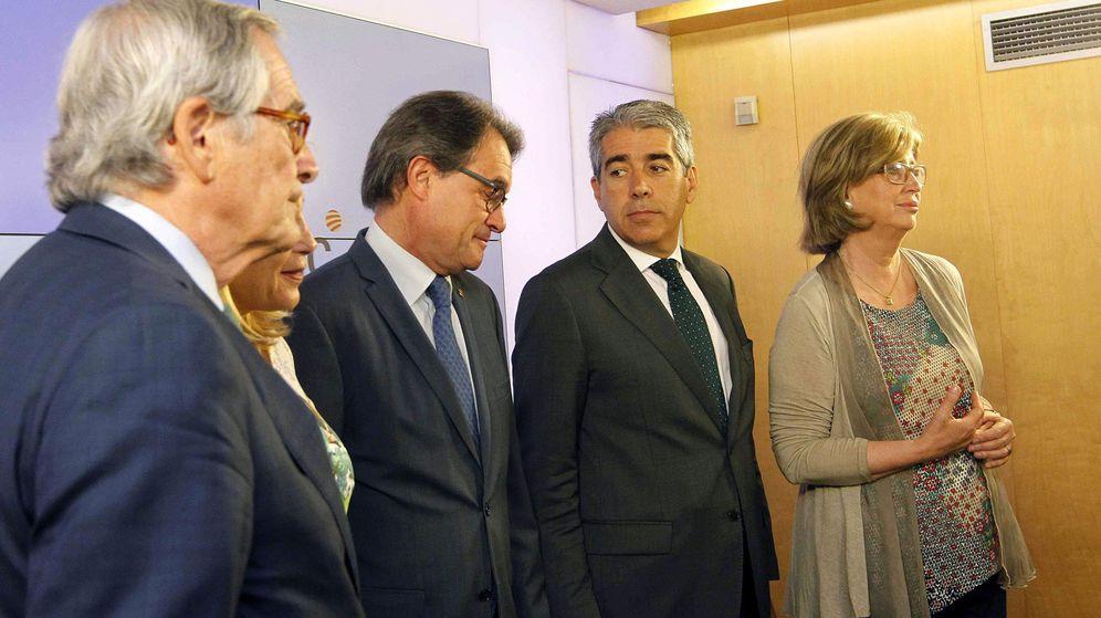 Foto: Trias, Mas y Homs en una imagen de 2016. (EFE)