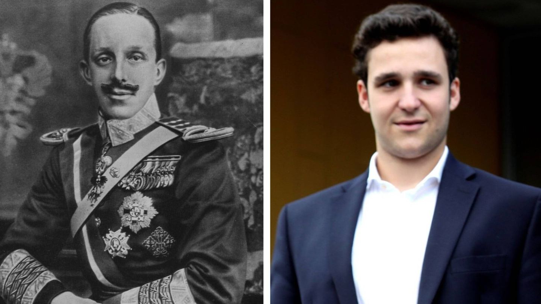Froilán y Alfonso XIII. (Vanitatis)