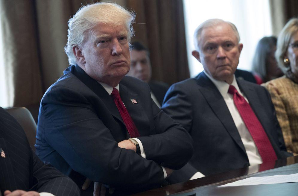 Foto: Foto de archivo de el presidente de EE.UU., Donald Trump. (EFE)