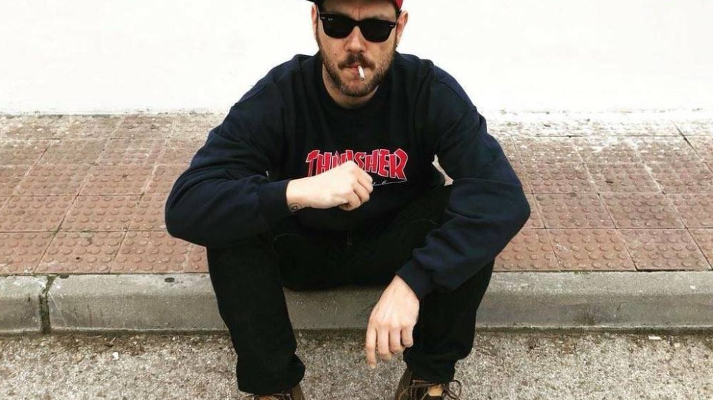 El rapero Nega, miembro de Los Chikos del Maíz.
