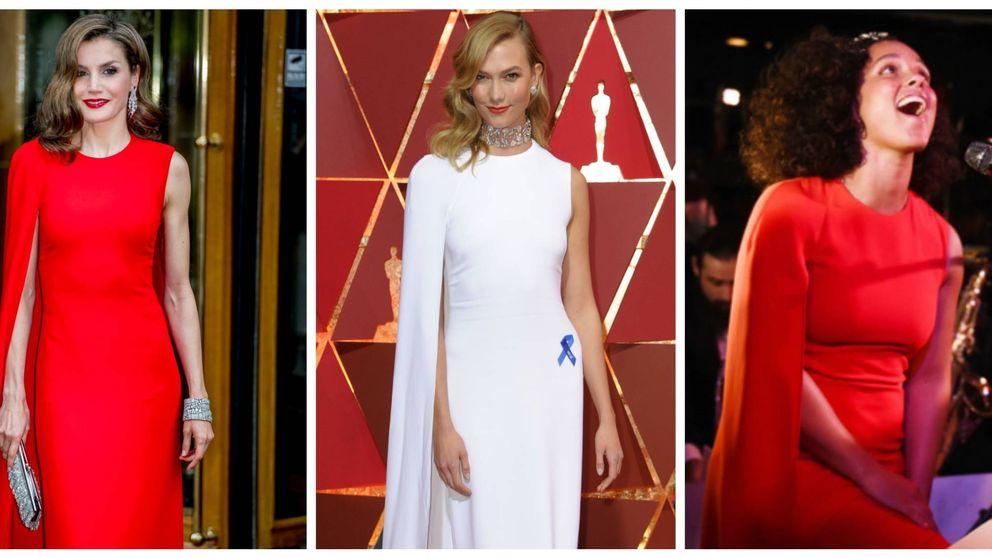¿Quién lo lleva mejor: la Reina Letizia, Karlie Kloss o Alicia Keys?