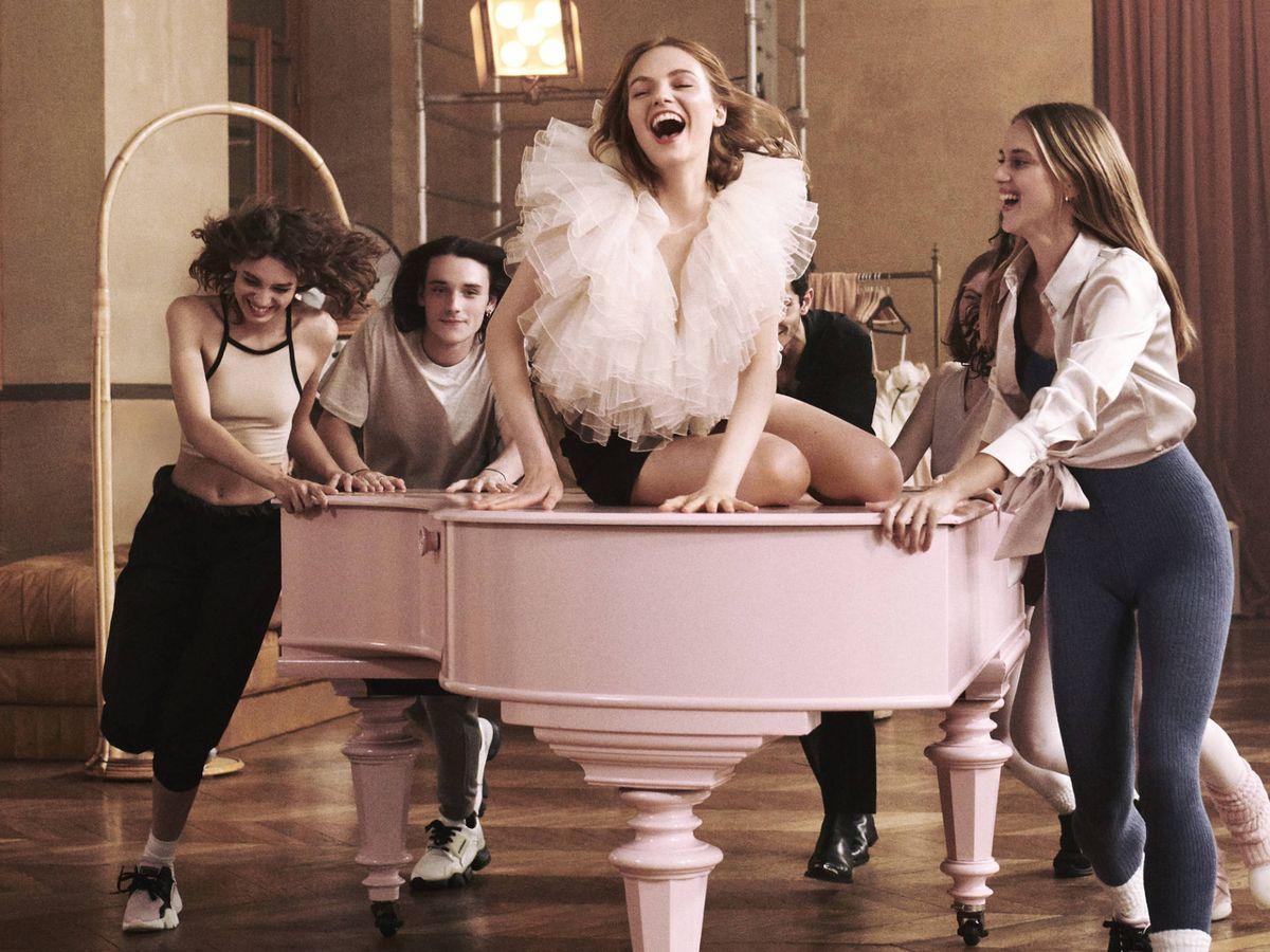 Foto: Imagen de la campaña de Irresistible Eau de Parfum de Givenchy. (Cortesía)