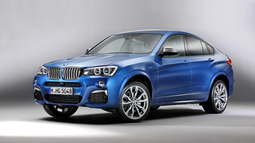 Más potencia en el X4, el todocamino deportivo de BMW