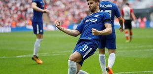 Post de El reto de Morata en el Chelsea sin Conte: convencer a Sarri y Luis Enrique
