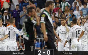 Cristiano y Benzema firman el 2-0 con la ley del mínimo esfuerzo