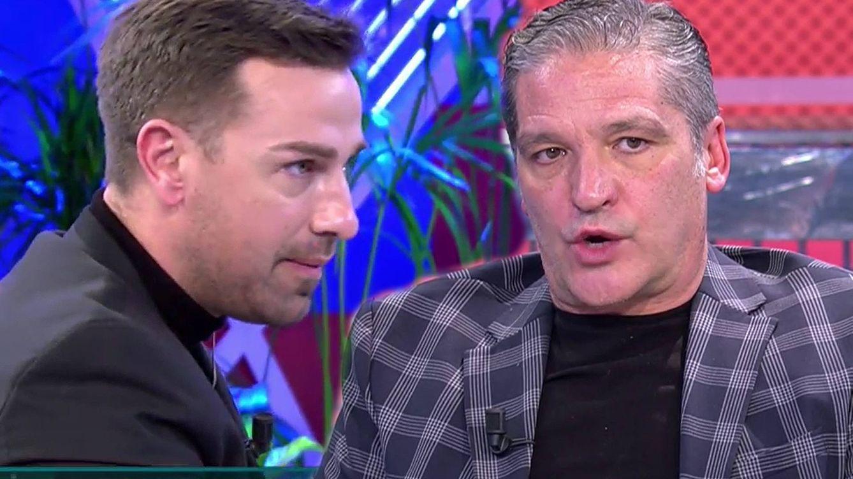 Abrupto final en el 'Deluxe': Rafa Mora se 'abalanza' contra Gustavo González