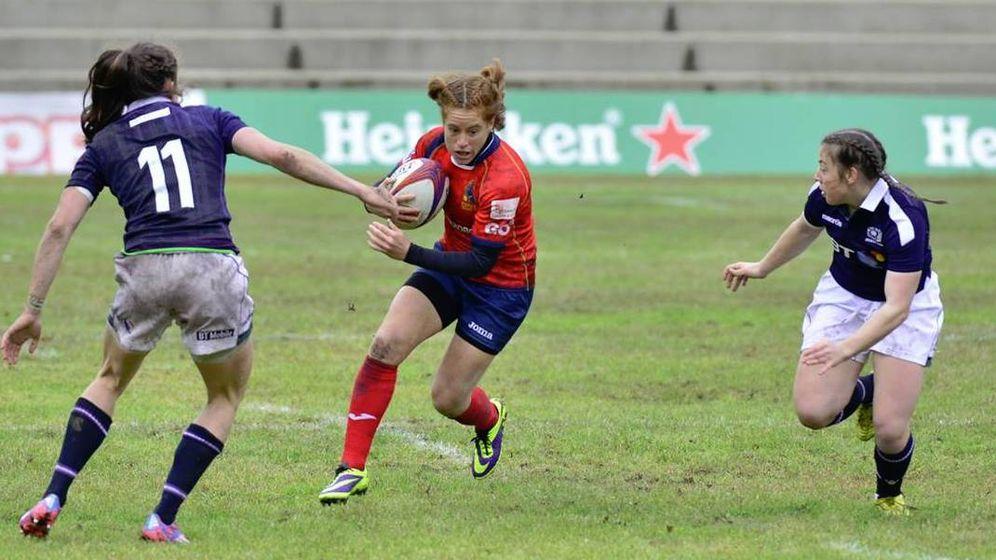 Foto: Las Leonas de España son una potencia mundial del rugby.