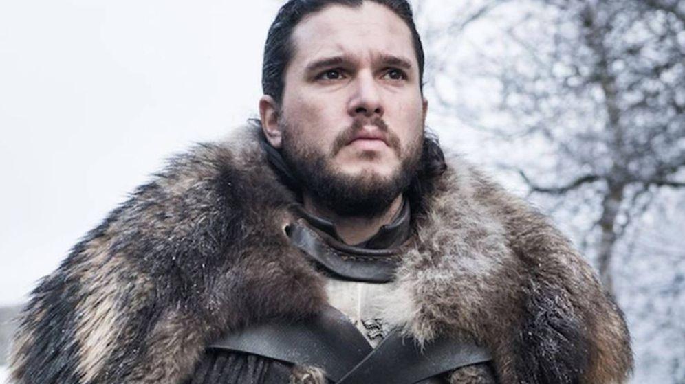 Foto: Jon Snow en el estreno de la última temporada de 'Juego de Tronos'. (HBO)