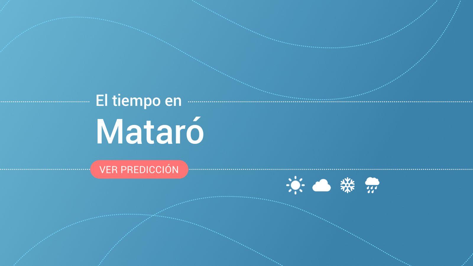 Foto: El tiempo en Mataró. (EC)