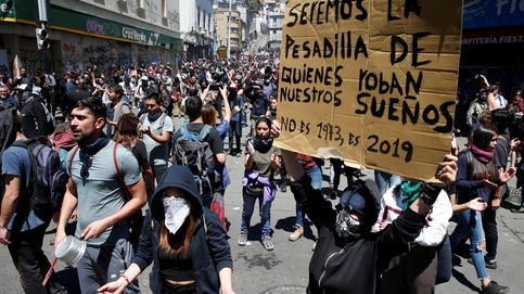 El oasis era un espejismo: la violencia en las calles pone en duda la excepción chilena