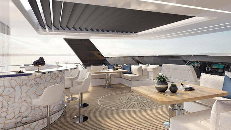 El interior, con todas las comodidades. (Sunreef Yachts)