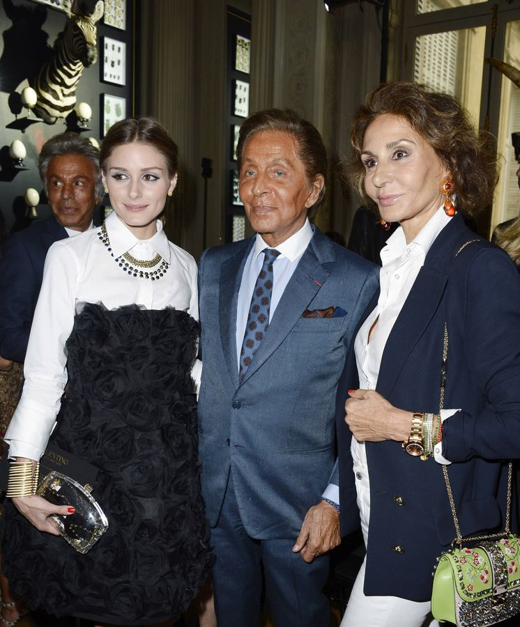Foto: Hoy en 'Gossip Girl'... Olivia Palermo, Valentino y Naty Abascal (Gtres)