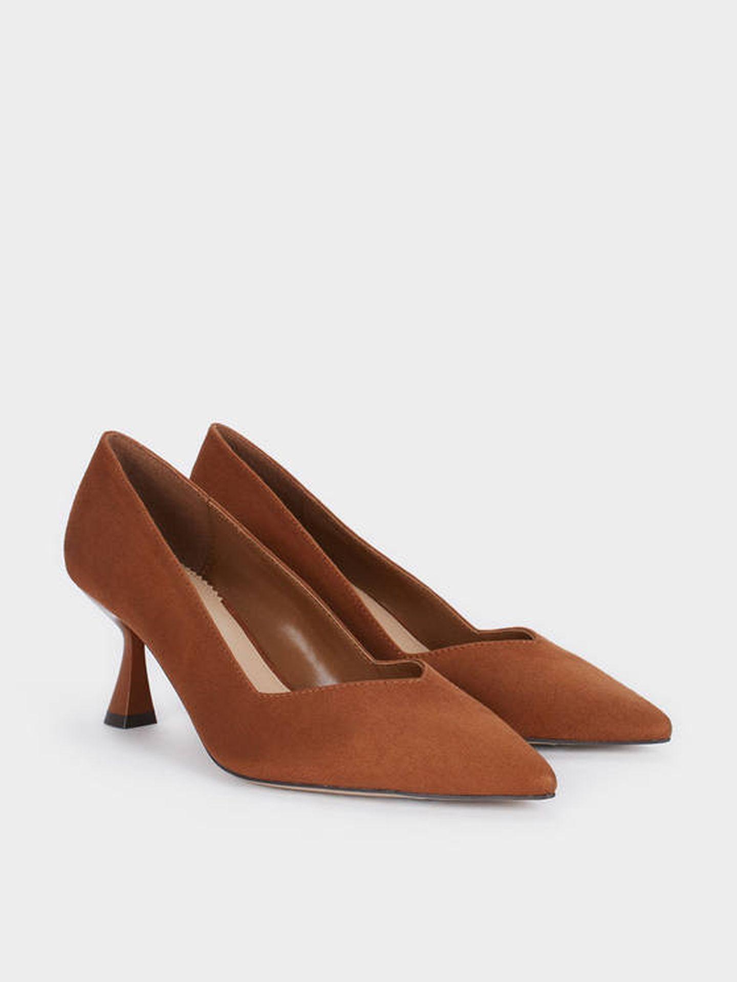 Zapatos de tacón rebajados de Parfois. (Cortesía)