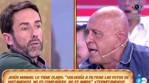 Jesús Manuel rinde cuentas ante Kiko Matamoros entre insultos y acusaciones