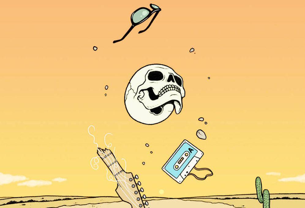 Foto: Detalle de portada de 'Matarse para vivir'. (Es Pop)