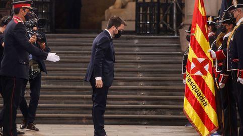 Aragonès inaugura ante Iceta el nuevo ciclo catalán hacia la autodeterminación