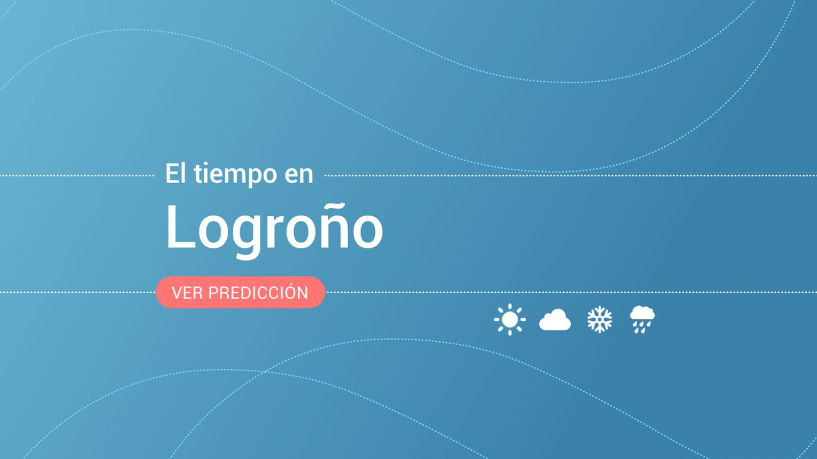 Foto: El tiempo en Logroño. (EC)