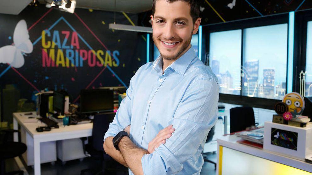 El drama de Nando Escribano, presentador de 'Cazamariposas': es huérfano con 28 años