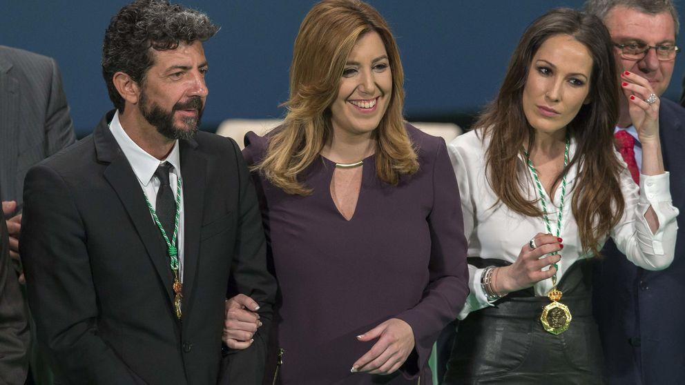 A Susana Díaz se le acabaron las fotos de cine