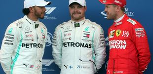 Post de Fórmula 1: Bottas logra la pole en Bakú, Leclerc la lía y Carlos Sainz saldrá 10º