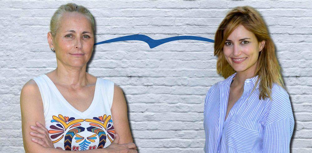 Foto: Lucía Parientes y Alba Carrillo en un fotomontaje de Vanitatis.