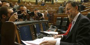 Foto: Rajoy sigue cobrando 870€ al mes del Congreso para alojamiento y manutención