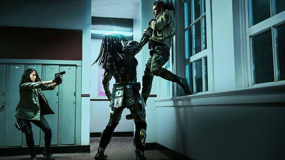 Foto: Olivia Munn y Boyd Holbrook interpretan a la doctora Casey Bracket y a Quinn McKenna.