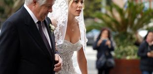 Post de Exuberante y con todo lujo de detalles, el vestido de boda de la novia de Jon Rahm