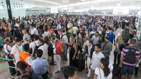 Leslie obliga a cancelar vuelos en Baleares y deja 17 heridos y v´ías cortadas en Cataluña