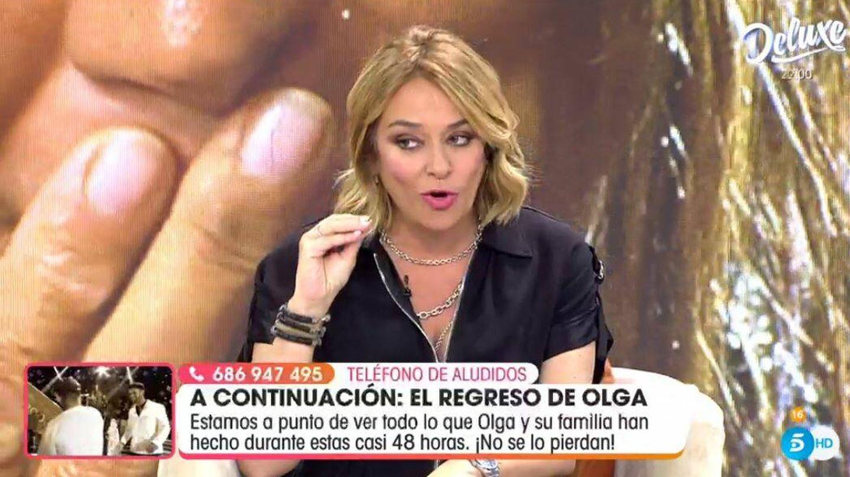 Toñi Moreno, en 'Viva la vida'. (Mediaset España)