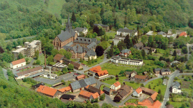 El monasterio de Haina no está rodeado de murallas, sino de bosque. (Cortesía Kloster Haina)