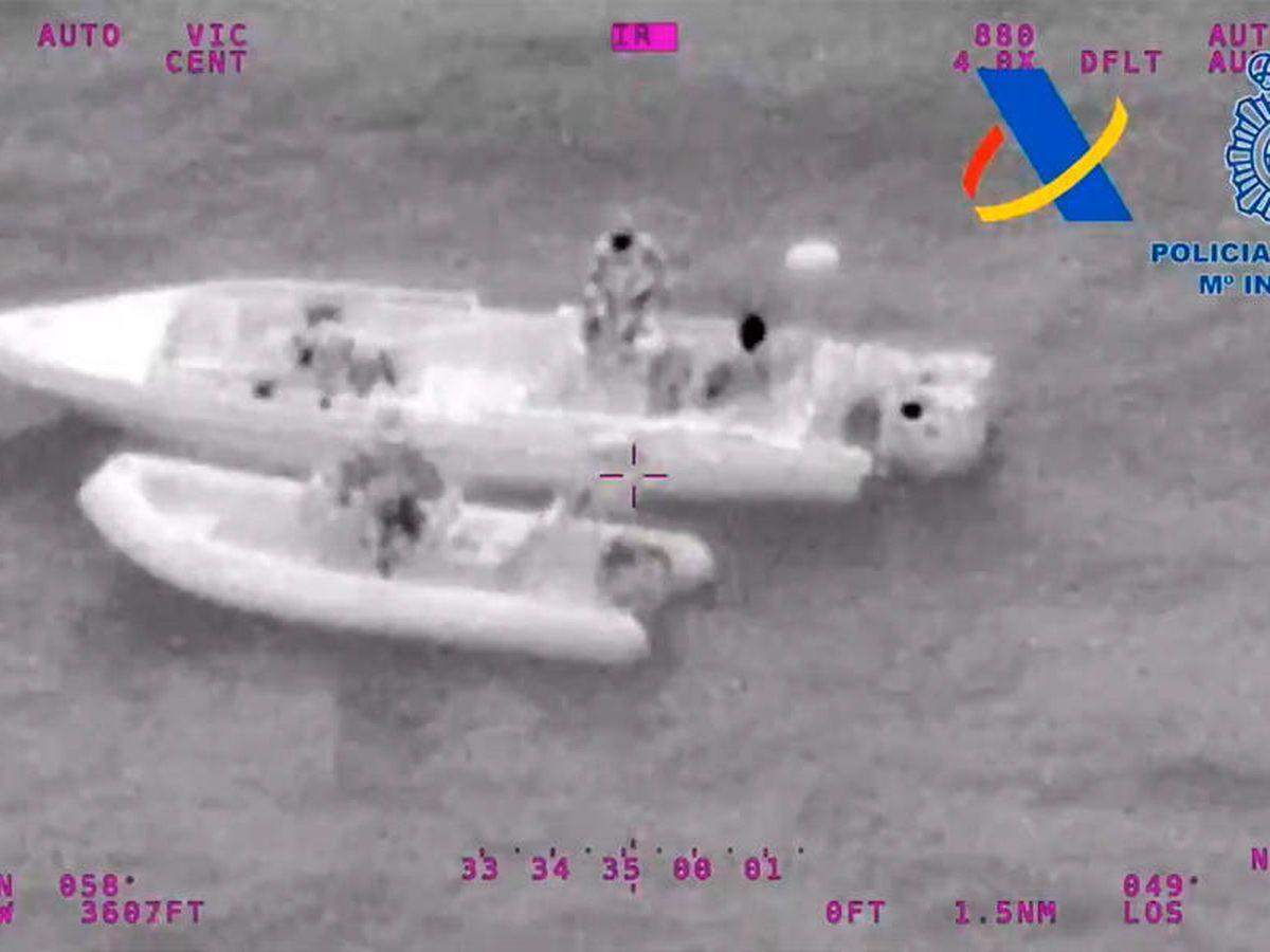 Foto: La investigación policial permitió hacerse con más de dos toneladas de hachís (Foto: Twitter)
