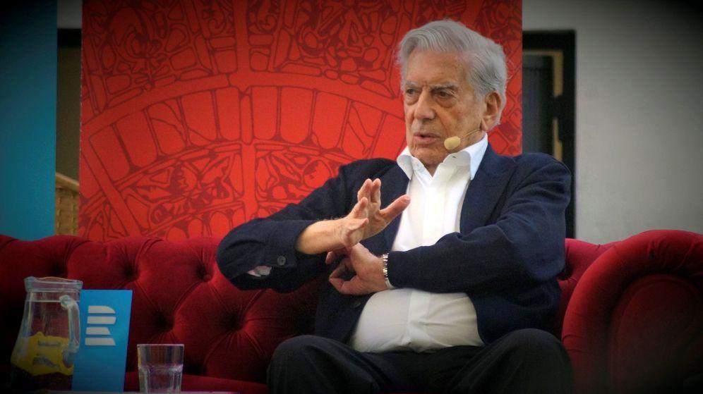 Foto: El escritor Mario Vargas Llosa. (EFE)