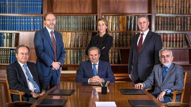 Foto: Juan Sánchez-Calero, en una imagen de la web de su estudio jurídico.