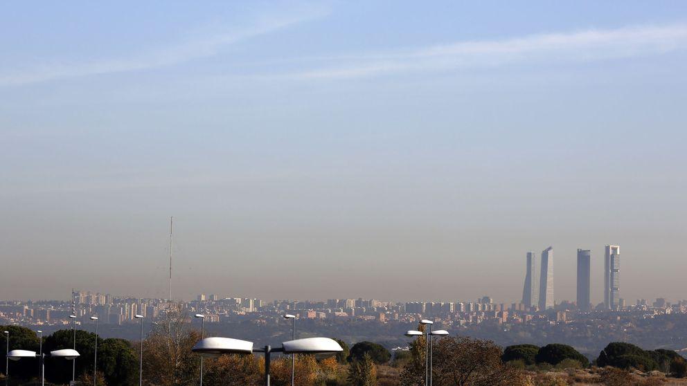 Madrid activa el protocolo de contaminación con limitaciones de velocidad en los accesos