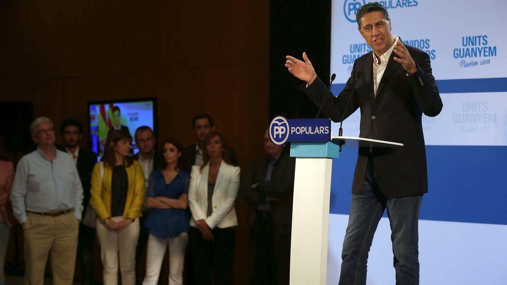 El PP encaja su peor resultado desde 1992 y se consuela con el fracaso de Mas