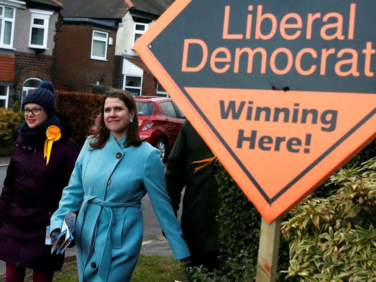 Foto: La líder de los Liberal Demócratas británicos, Jo Swinson. (Reuters)