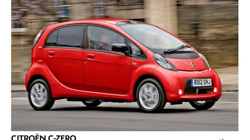 Foto: Citroën C-Zero, un urbano 100% eléctrico de PSA.