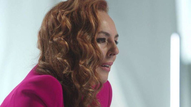 Rocío Carrasco, en el sexto episodio de 'Rocío, seguir viva'. (Mediaset)