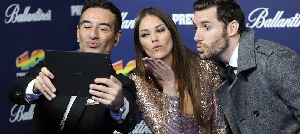 Foto: Helen Lindes y Rudy Fernández el pasado 12 de diciembre en los premios 40 Principales (I.C.)