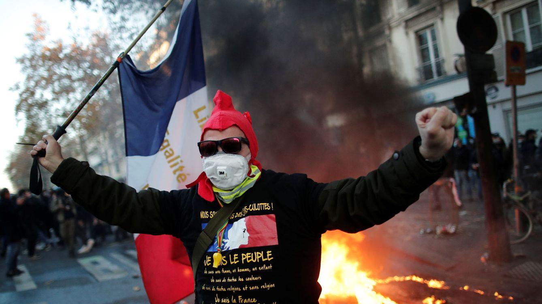 Las masivas protestas en Francia contra la ley de seguridad se saldan con 50 detenidos