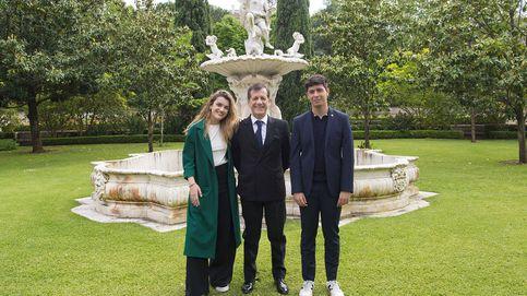Eurovisión 2018: Amaia y Alfred visitan al embajador de España en Portugal