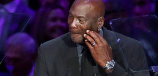 Post de Las lágrimas de Michael Jordan en el homenaje a Kobe Bryant