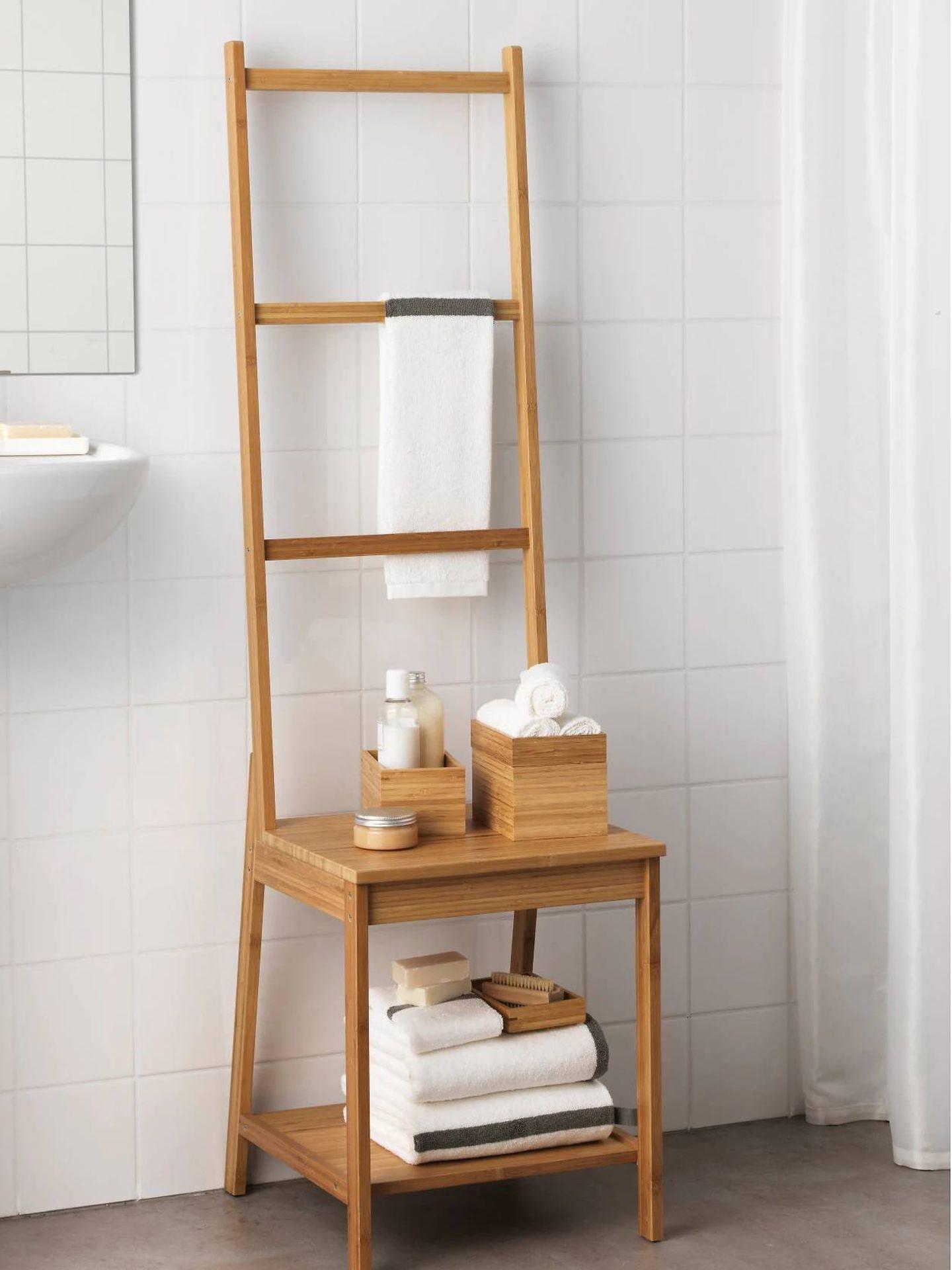 Convierte tu baño en un spa con este complemento de Ikea. (Cortesía)