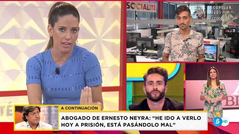 Nuria Marín se explica en 'Socialité': lo que sucedió tras las cámaras cuando Pelayo Díaz la llamó choni
