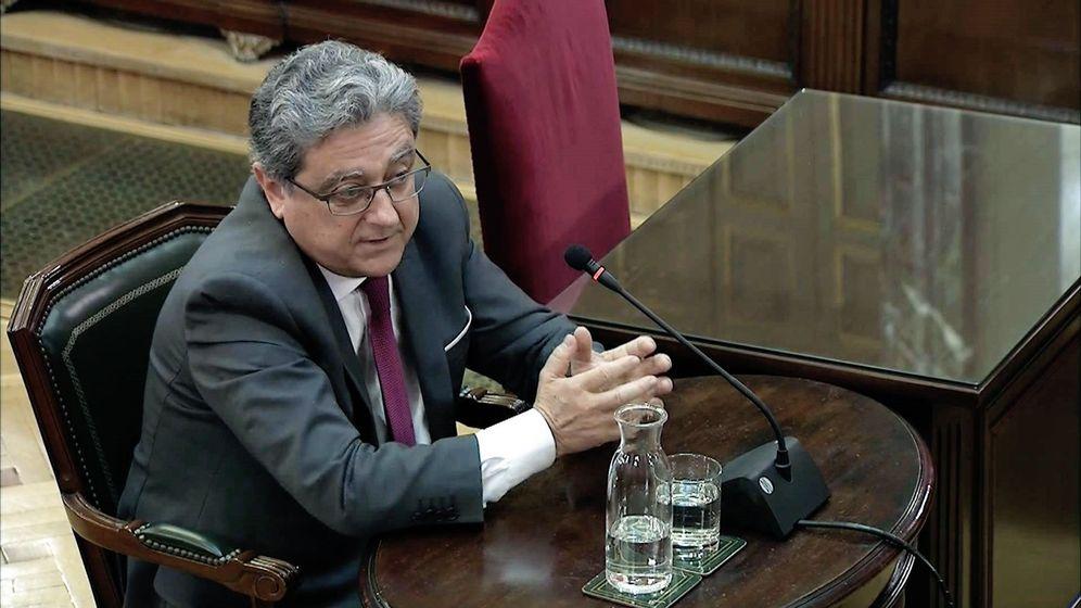 Foto: Enric Millo, durante el juicio del 'procés'. (EFE)