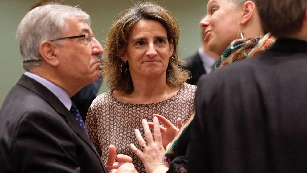 Foto: Ribera en el Consejo de Medio Ambiente de la UE. (EFE)