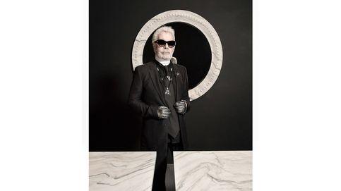 Karl Lagerfeld se estrena como escultor