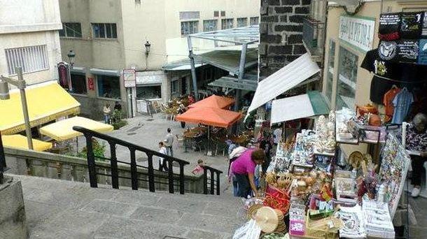 Foto: El mercado A Pedra.