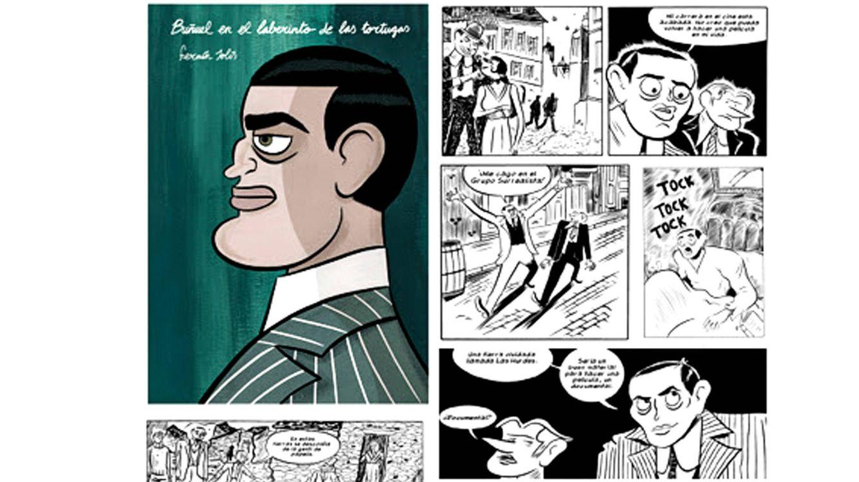 Foto: 'Buñuel en el laberinto de las tortugas', de Fermín Solís.